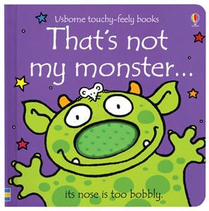 Usborne Touchy-Feely Book - That's Not My Monster