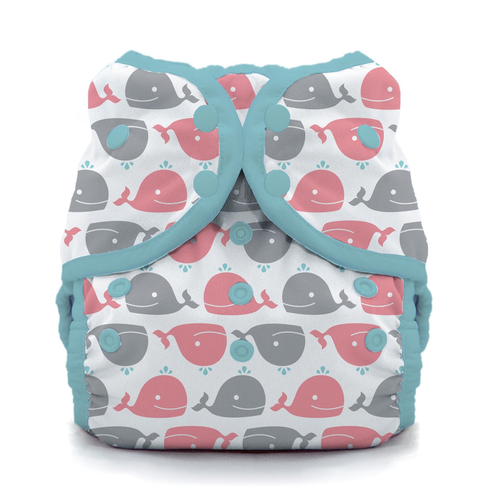 Thirsties Swim Diaper - Whales