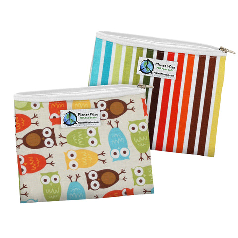 Planet Wise Reusable Sandwich Bags - 2 pk.