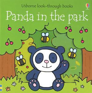 Usborne Look-through Book - Panda in the Park