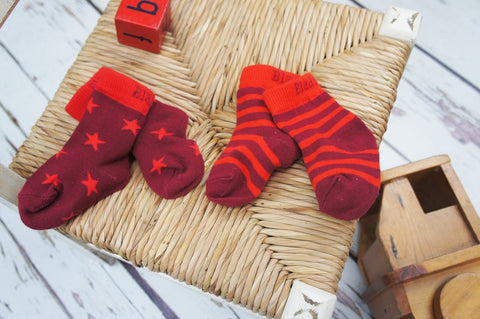 Blade & Rose Socks - Christmas Pudding