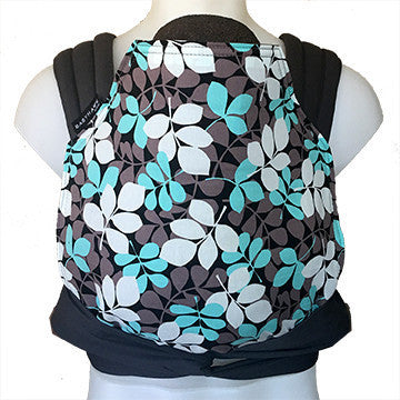 BabyHawk Meh Dai Baby Carrier - Aqua Leaves
