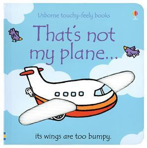 Usborne Touchy-Feely Book - That's Not My Plane