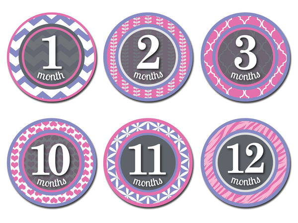 Sticky Bellies Patterned Princess Stickers