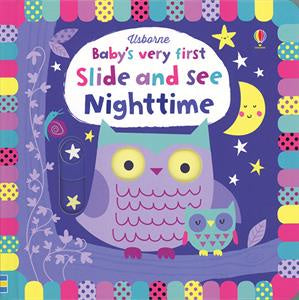 Usborne Baby's Very First Slide and See Nighttime