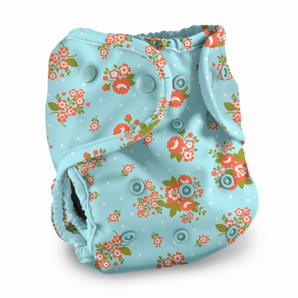 Buttons One Size Diaper Cover - Prints