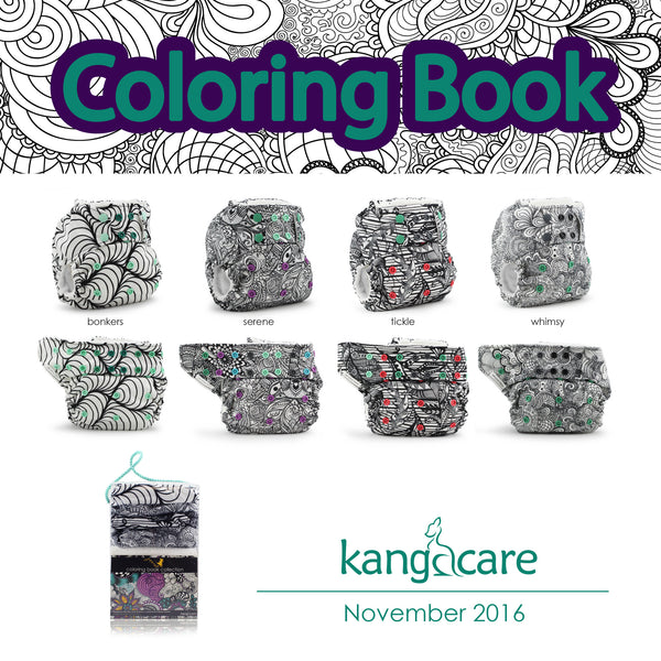 Rumparooz Coloring Book Collection