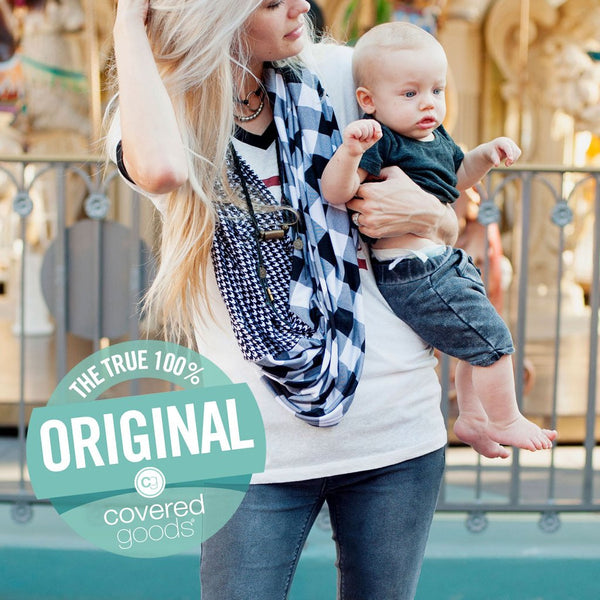 Covered Goods Multi-use Nursing Cover - Oxford Mismatch