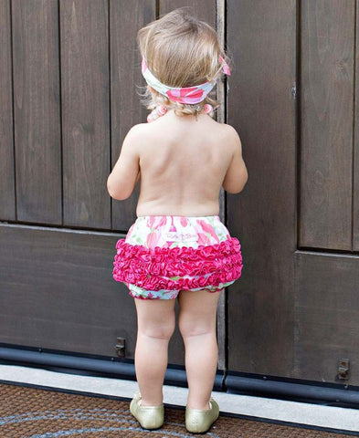 Sweet Stems Knit Rufflebutt