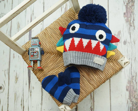 Ziggy Hat & Mittens Set