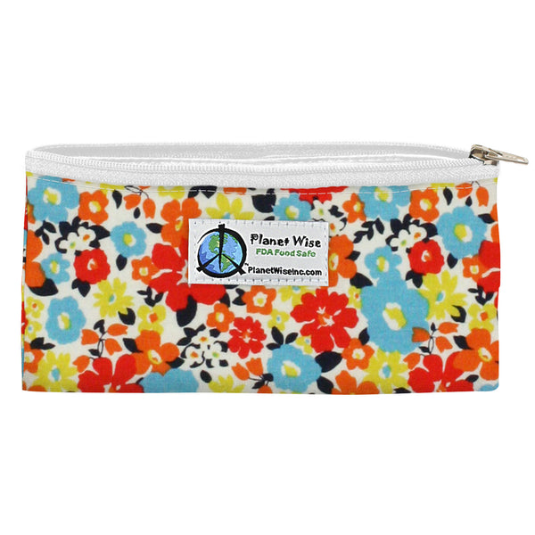 Planet Wise Reusable Zipper Snack Bag