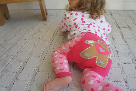 Blade & Rose Leggings - Pink Gingerbread