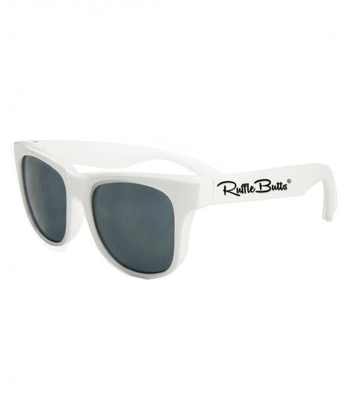 White Wayfarer Sunglasses