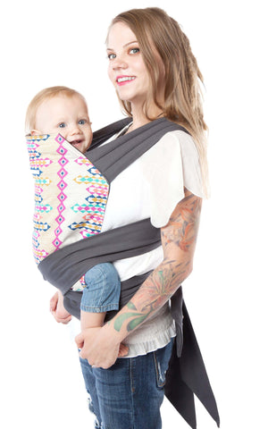 Babyhawk Meh Dai Baby Carrier Aqua Leaves The Fluffy Baby Boutique