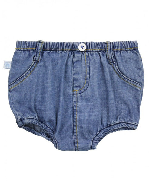Light Wash Denim Bloomer