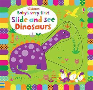 Usborne Baby's Very First Slide and See Dinosaurs