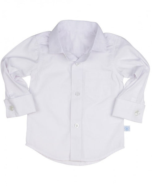 White Formal Button Down