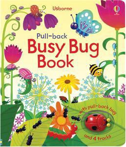 Usborne Pull-back Busy Bug Book