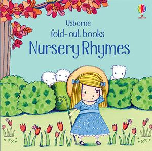 Usborne Nursery Rhymes Fold-out Book