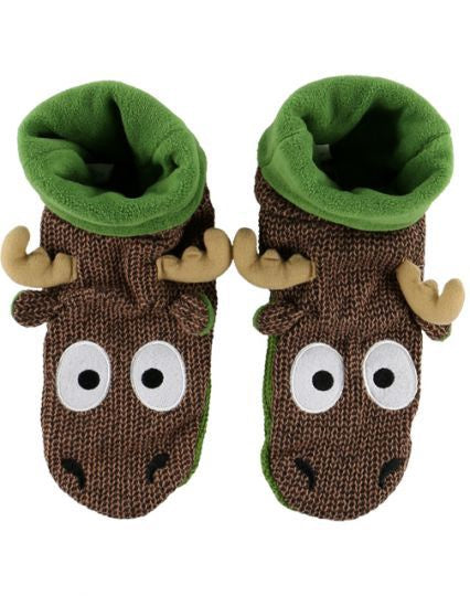 Woodland Slippers - Moose
