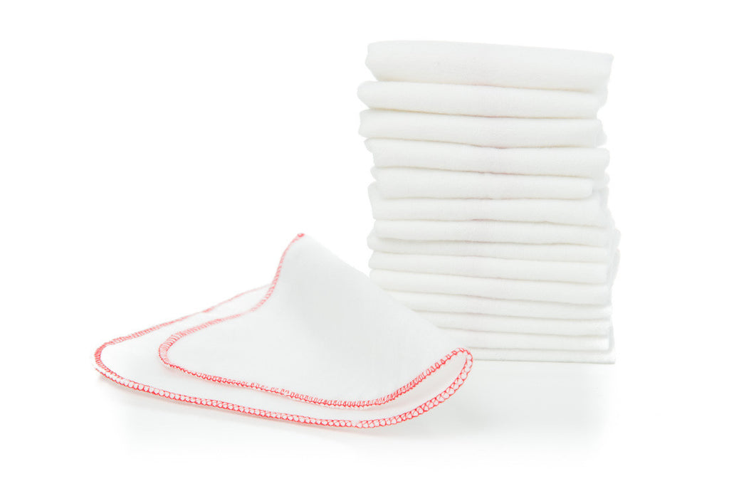 Buttons Cotton Flannel Wipes - 15 pk.