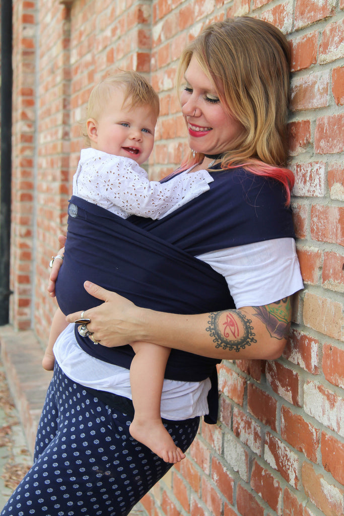 Classic Moby Wrap - Navy