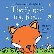 Usborne Touchy-Feely Book - That's Not My Fox