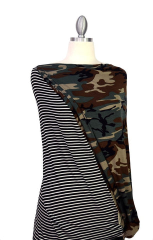 Covered Goods Multi-use Nursing Cover - Camo Mismatch