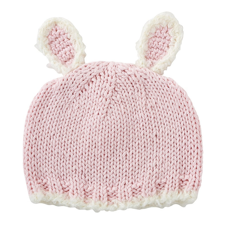 Pink Bunnie Knit Hat