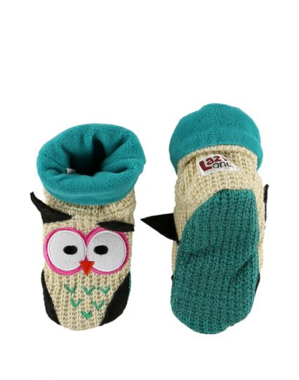 Woodland Slippers - Owl