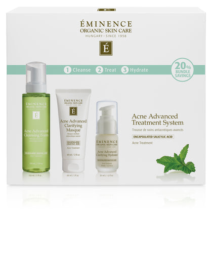 Advanced Acne 3 Step Treatment System