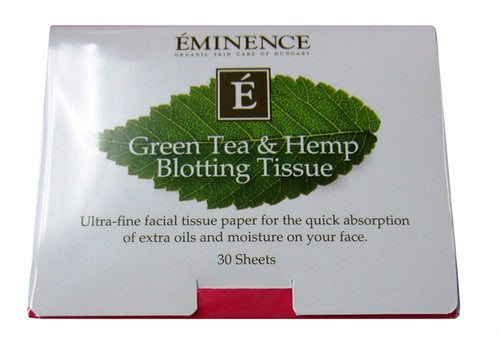 Green Tea Blotting Tissue - Eminence Organic Skin Care