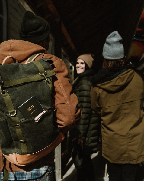 THE FIELD PACK - OLIVE