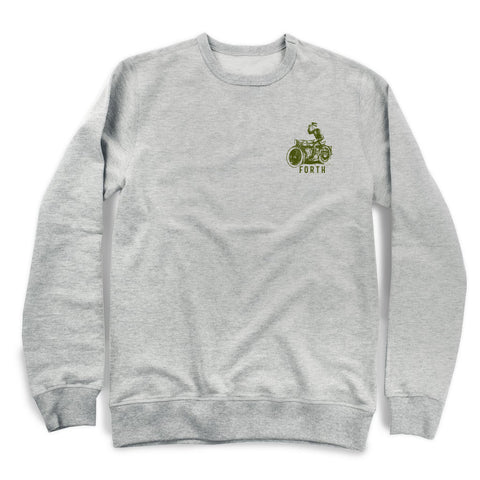 THE CITY CRUISER CREWNECK