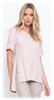 SIDE SLIT BUTTONS LONG SLEEVES T-SHIRT