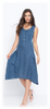LINEN BOTTOM STRING DRESS