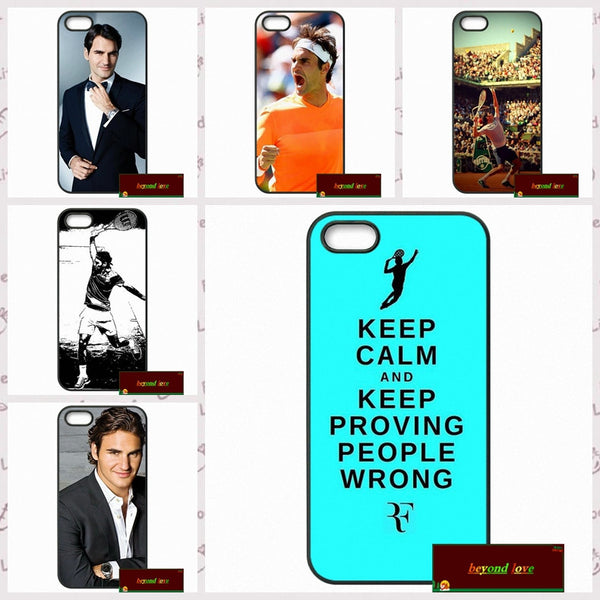 Roger Federer RF Phone Cover Cases - FREE For A Limited Time Only - Accessories - TennisMerch