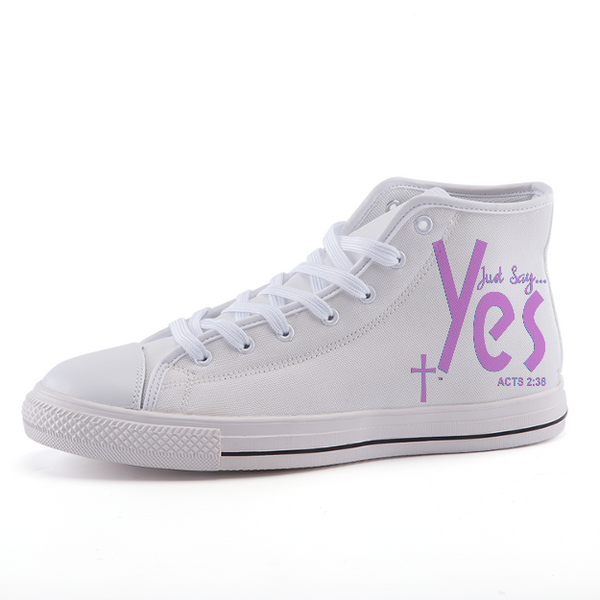 High-top fashion canvas shoes custom product