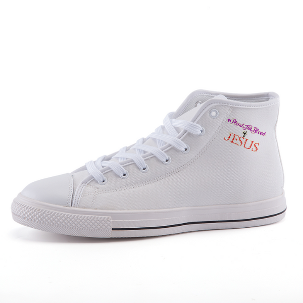 High-top fashion canvas shoes custom products