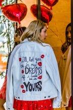 Be In My Dreams - Hand Painted Original Levi Jacket