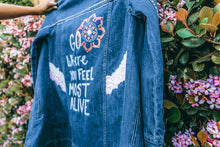 Feel Alive - Hand Painted Jacket