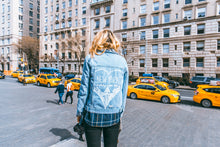 NYC Good Idea - Hand Painted Denim
