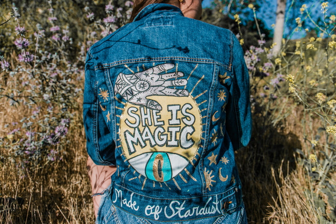 SHE IS MAGIC - One of a kind