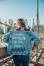 NYC ROSE - Hand Painted Jacket