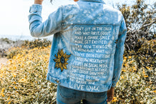 Say It Out Loud - Hand Painted Denim