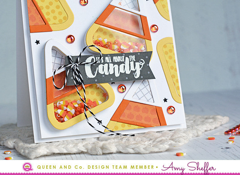 It's All About Candy Corn - Halloween Hoopla Shaker Kit