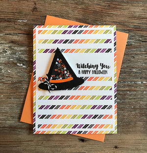 Witch Way to the Candy Corn - Halloween Hoopla Shaker Kit