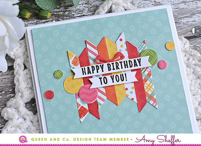 Use Die Cut Negatives - Pretty Presents Shaker Kit