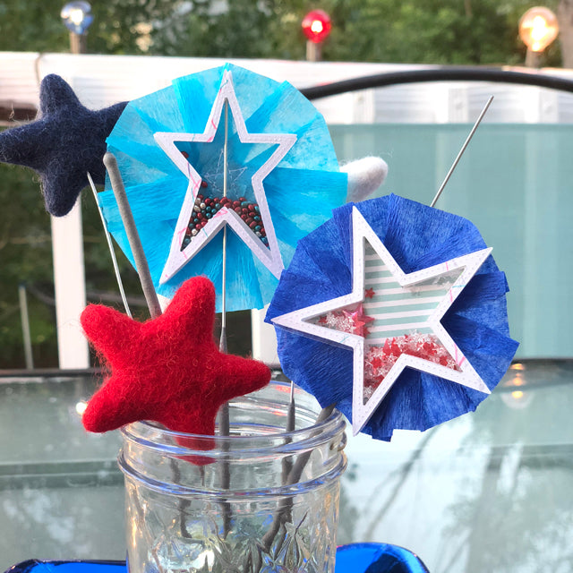 Re-purposing Decor - Star Shaped Shaker