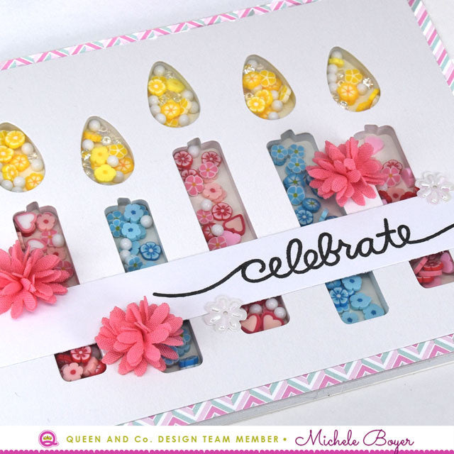 Let's Celebrate with Butterflies - Shaker Cards